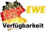 EWE Verfügbarkeit Breitband Internet - Glasfaser, VDSL und DSL