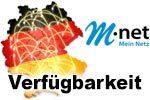 M-Net Verfügbarkeit Breitband Internet - Glasfaser, VDSL und DSL