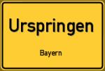Urspringen – Bayern – Breitband Ausbau – Internet Verfügbarkeit (DSL, VDSL, Glasfaser, Kabel, Mobilfunk)
